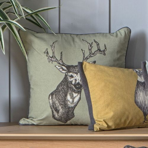 Stanley Stag Cushion